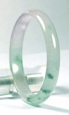 Jade-Bangle-2610ag My jade jewelry collection Natural Jade, jadeite bangle which can be described as a moss in ice jade bangle