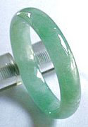 Jade-Bangle-919ag My jade jewelry collection  Natural A grade jadeite jade bangle, an example of jade jewelry and many jade bangles on my site for under $600usd.