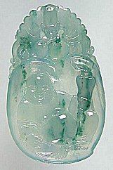 Jade-Pendant-Buddha-27ag My jade jewelry collection  Natural A grade jadeite jade Buddha pendant, an example of jade jewelry carving and jade pendants found on my site.