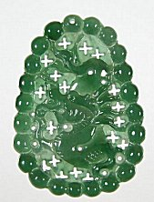 Jade-Pendant-dragon-356ag My jade jewelry collection  Natural A grade jadeite jade Dragon pendant, an example of jade jewelry carving and jade pendants found on my site.